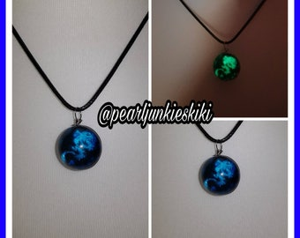 Dragon Glass Glow in the Dark Necklace