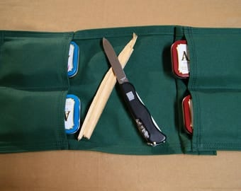 Bushcraft pouch 4 pockets. Hunting, Hiking, Camping, Fishing, First Aid, General Household.