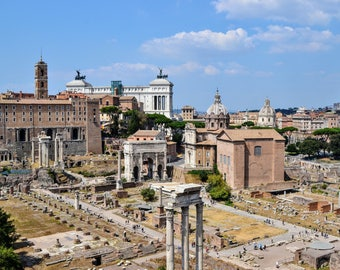 Rome Photography, The Roman Forum, Italy, Rome, Rome Wall Art, Home Decor, Travel Photography, Photography Prints
