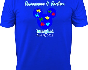 Awareness 4 Autism Adult Event Shirt