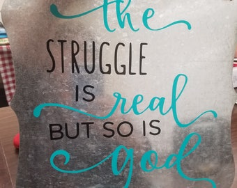 Struggle sign