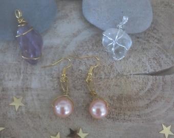 Stone and bead jewelry