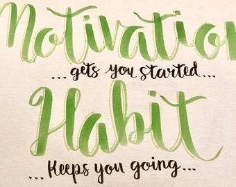 Motivation vs Habit