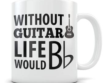 Guitar Gift, guitar mug, guitar gift for men, guitar gift for women, acoustic guitar mug, acoustic guitar gift, guitar teacher gift / mug