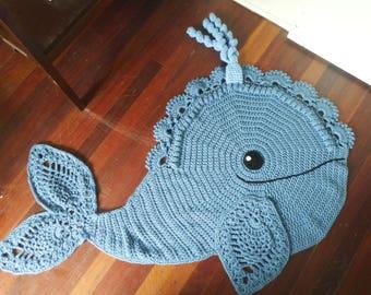 Whale Floor Rug