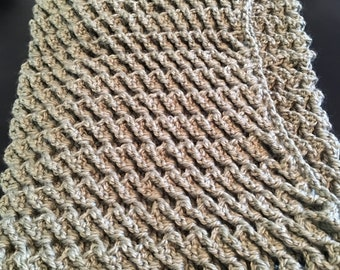 Handmade Crochet 3D Stitched Cowl