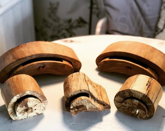 Handmade band saw boxes, Spalted Beech, Ash