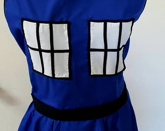 Dr Who inspired apron