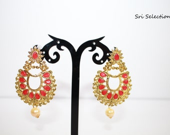 Indian Antique Finish Kundan Jewelery/Artificial Jewelery/Bollywood Fancy Jewelery - A115