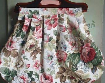 Beautiful Bold Floral Wool bag