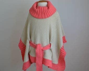 Handmade Poncho Sweater for Girls