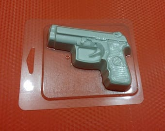 Soap mold, Icetray, Form for chocolate, Clean, Beautiful, Weapon, the Gun, Mafia, the Game,