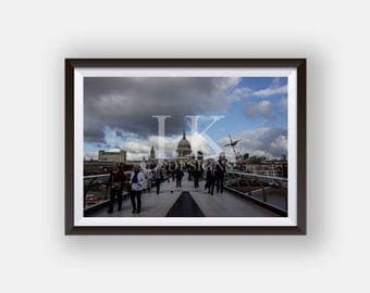 St Pauls Cathedral, London - Photography Print
