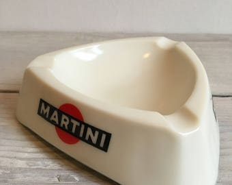 Ashtray Martini bar, vintage, collectible, 1970