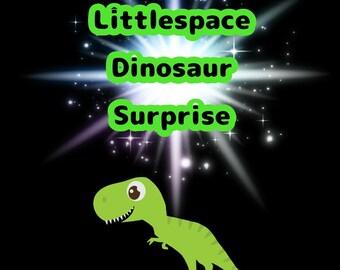 Littlespace A Dinosaur surprise box!