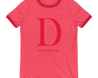 D is for Delta Ringer T-Shirt