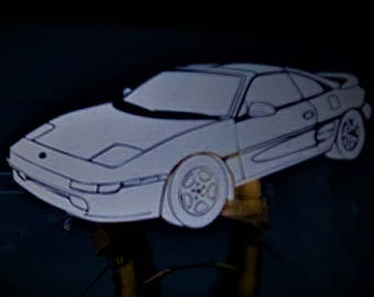 Toyota Mr2 car vinyl