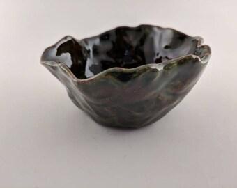 Ceramic Free Form Bowl