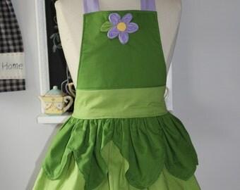 Green Girls Apron