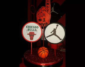 Chicago Bulls Centerpiece