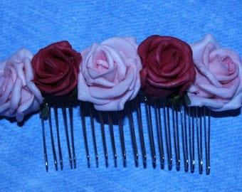Rose Hair Slide