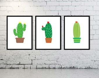 Three Cacti Digital Downloads