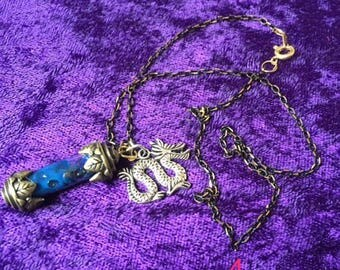 Dragon's Blood Potion Necklace