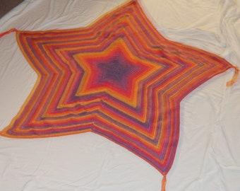 5 Point Star Kids Blanket