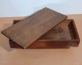 Old handmade box.