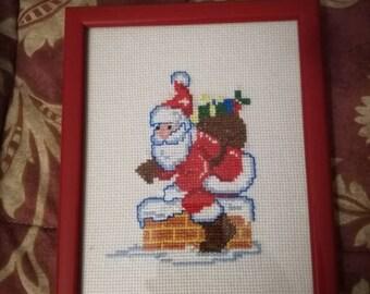 Santa Claus Cross Stitch