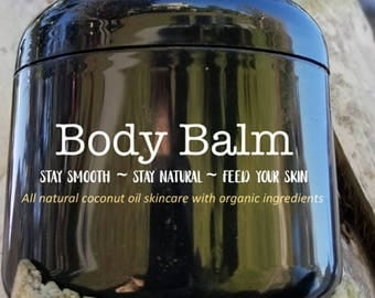 Body Balm made with Organic Ingredients