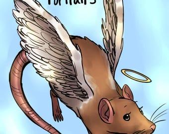 Custom Rat Portrait