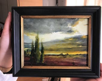 Painting school picture impressionist Salento-Ron