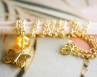 Butterfly beauty necklace