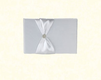 1pcs/Wedding Guest Book - White