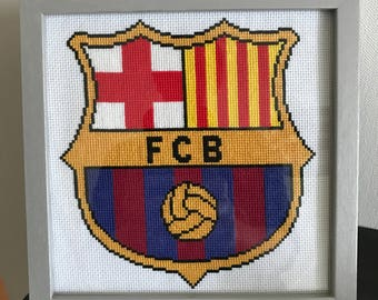 Cross stitch chart / Cross Stitch - FC BARCA.
