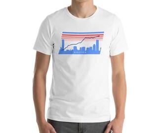Boston Marathon route shirt