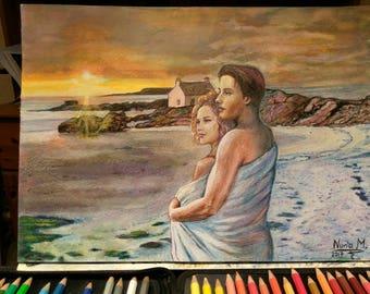 On the isle of Barra (original artwork)