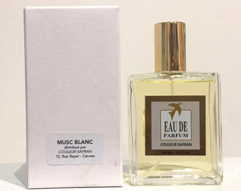 MUSK perfume white - 100 ml - made in Grasse - handcrafted by a master perfumer