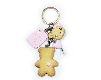 Cookie Bear KeyChain - Buiscuit Bear