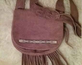 Mountain Man Fringed possibles bag