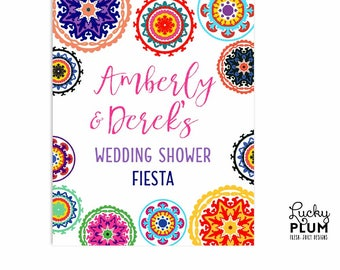 Fiesta Welcome Sign / Fiesta Couples Shower Sign / Fiesta Wedding Shower Sign / Fiesta Engagement Sign / DIY Printable FT01