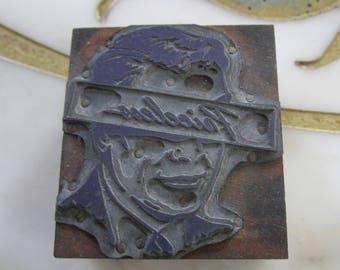 Vision is Priceless Antique Letterpress Printing Block