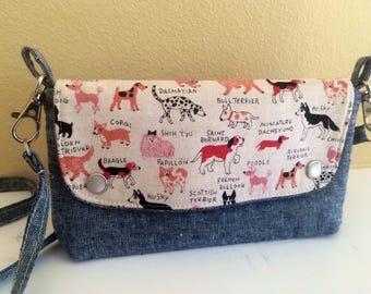 The Hipster Bag- A Modern Fannie Pack- Pink Dog Breeds