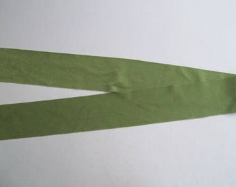 Nylon Lycra Spandex BINDING 1-1/2 in. Mossy GREEN Spring 5 yds Tape Straight Cut TAPE