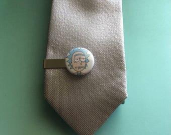Rick Sanchez Tie Clip