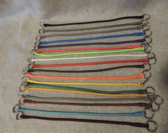 Paracord Slip Collar Color and Size Your Choice