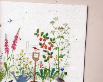 Kazuko Aoki - Embroidery Trip to UK Cotswolds -  Craft Book