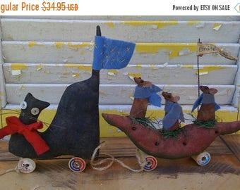 CustomerAppreciationSale Primitive Cat and Mouse Parade