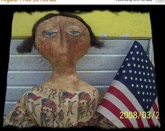 CustomerAppreciationSale Primitive Americana Liberty Doll